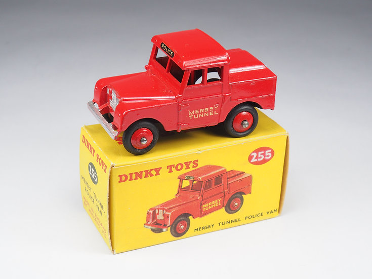 DINKY TOYS ENGLAND - 255 - MERSEY TUNNEL POLICE VAN - 1/43e