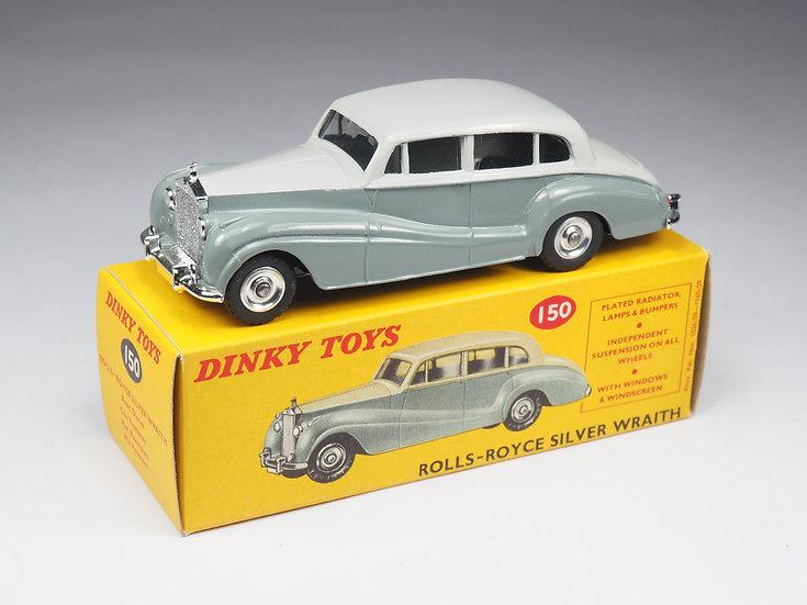 DINKY TOYS ENGLAND - 150 - ROLLS ROYCE SILVER WRAITH - 1/43e