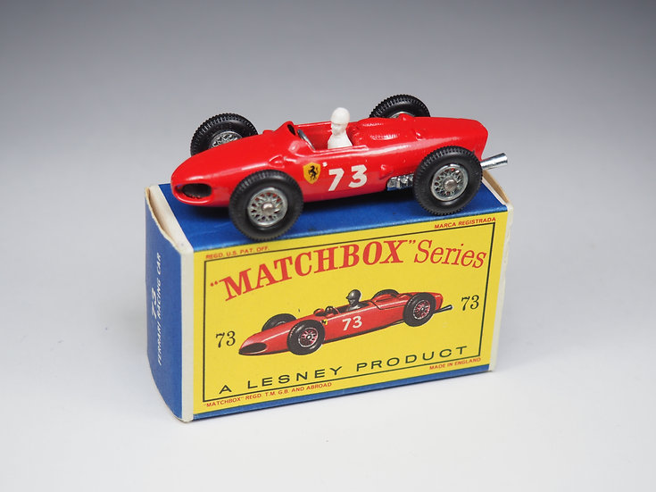 MATCHBOX - 73b - FERRARI RACING CAR