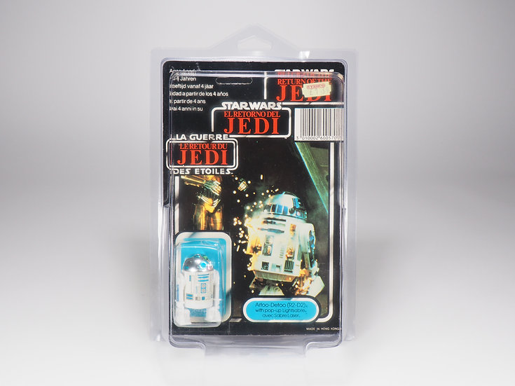PALITOY TRI-LOGO - ROTJ - R2-D2 POP-UP LIGHTSABER