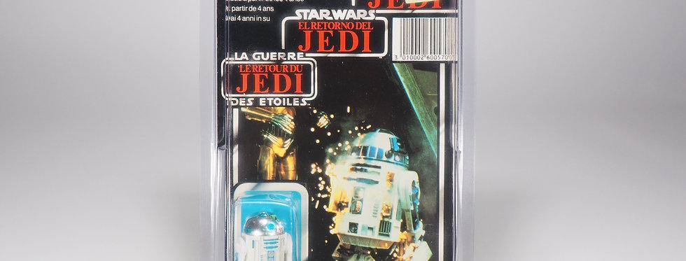 PALITOY TRI-LOGO - ROTJ - R2-D2 POP-UP LIGHTSABER