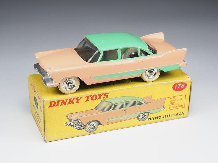 DINKY TOYS - 178 - PLYMOUTH PLAZA - 1/43e