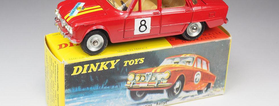 DINKY TOYS FRANCE - 1401 - ALFA ROMEO GIULIA 1600 Ti «RALLYE»