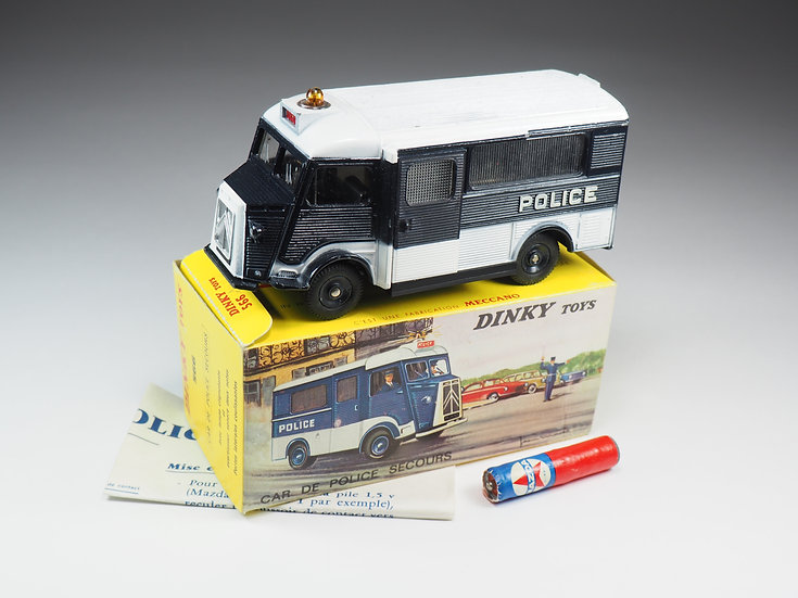 DINKY TOYS FRANCE - 566 - CITROEN CAR DE POLICE SECOURS - 1/43e