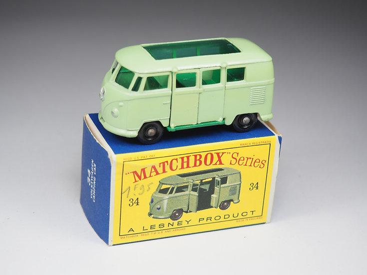MATCHBOX - 34b - VOLKSWAGEN CAMPING CAR