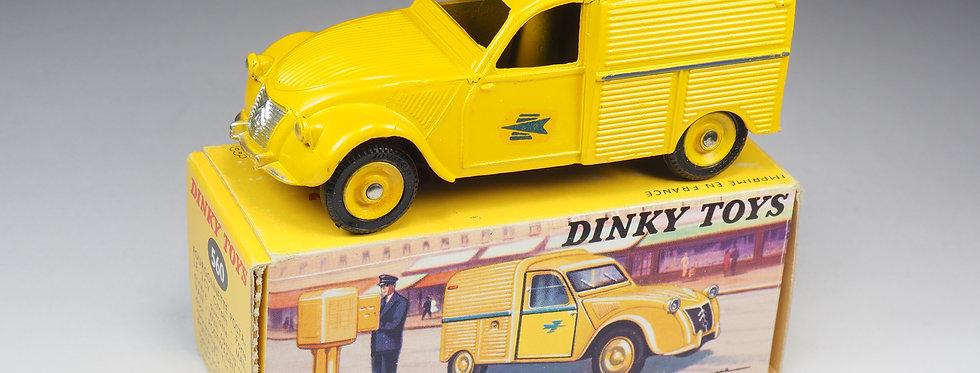 DINKY TOYS FRANCE - 560 - CITROEN 2CV FOURGONNETTE POSTALE