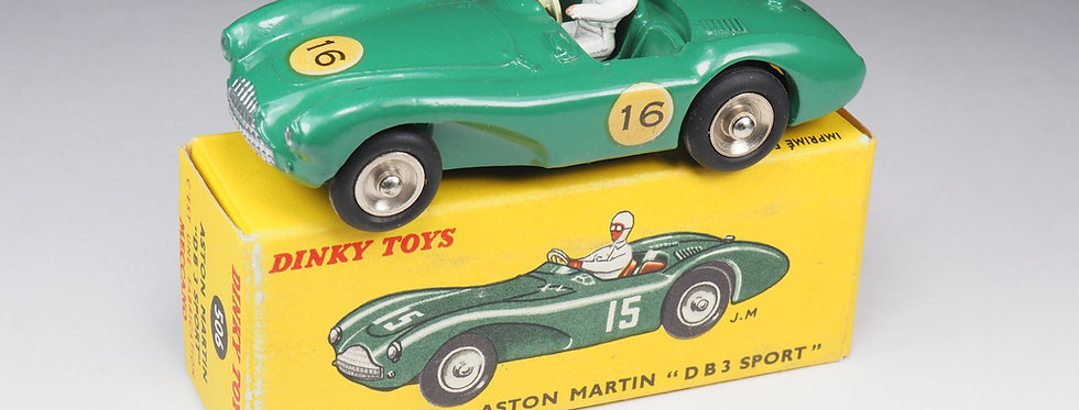 DINKY TOYS FRANCE - 506 - ASTON MARTIN DB3