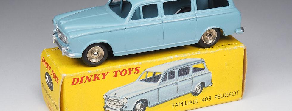 DINKY TOYS - 525 - PEUGEOT 403 FAMILIALE - 1/43