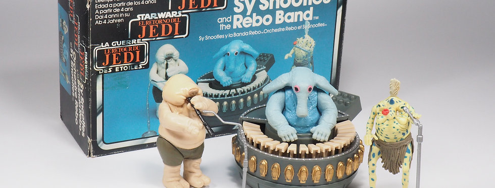 VINTAGE TRI-LOGO - 1983 - ST SNOOTLES AND THE REBO BAND
