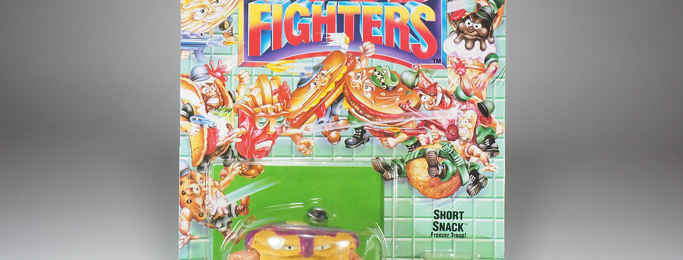 MATTEL - FOOD FIGHTERS - SHORT SNACK ( STACK ) - PURPLE VERSION