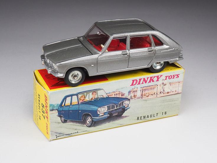 DINKY TOYS FRANCE - 537 - RENAULT 16 - 1/43e