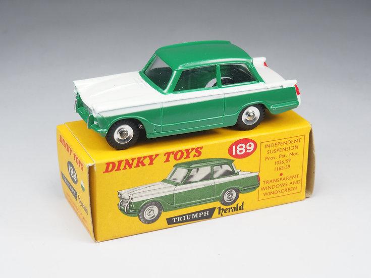 DINKY TOYS ENGLAND - 189 - TRIUMPH HERALD - 1/43e