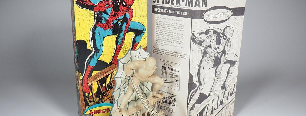 AURORA KITS - 477-100 - 1966 - SPIDERMAN