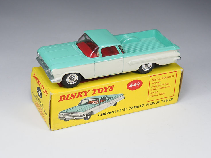 DINKY TOYS - 449 - CHEVROLET « EL CAMINO » PICK-UP - 1/43e