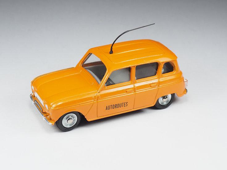 DINKY TOYS FRANCE - 518A - RENAULT 4L 'AUTOROUTES'