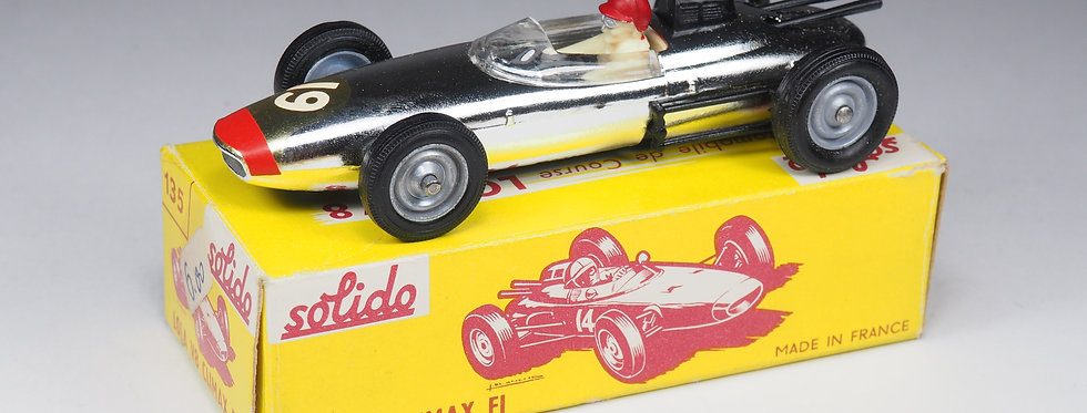 SOLIDO - 135 - LOLA V8 CLIMAX F1 - WHITE NUMBER - 1/43