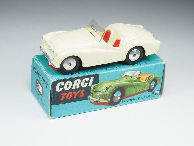 CORGI - 301 - TRIUMPH TR2 SPORTS CAR