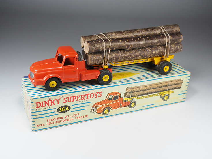 DINKY TOYS FRANCE - SUPERTOYS - 36A - TRACTEUR WILLÈME FARDIER