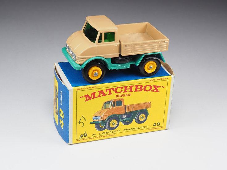 MATCHBOX - 49 - MERCEDES UNIMOG