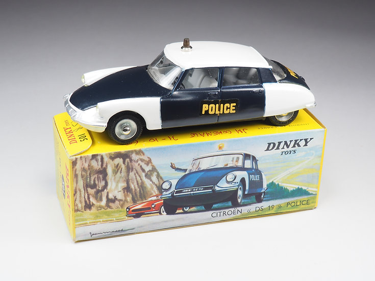 "DINKY TOYS FRANCE - 501 - CITROËN DS 19 ""POLICE"""