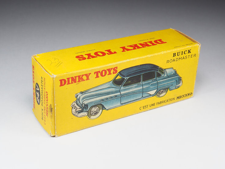 DINKY TOYS FRANCE - 24V - BUICK ROADMASTER - BOX ONLY