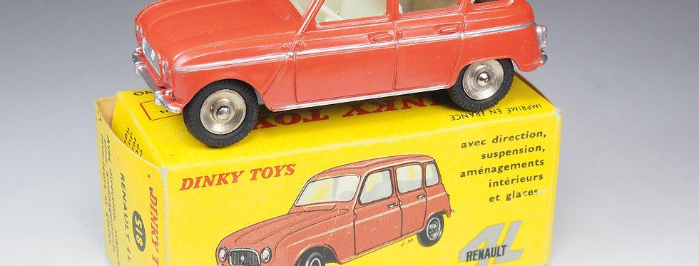 DINKY TOYS FRANCE - 518 - RENAULT 4L - JANTES GRAND DIAMÈTRE