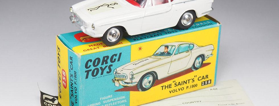 "CORGI - 258 - VOLVO P1800 THE ""SAINT'S"" CAR - 1/43e"