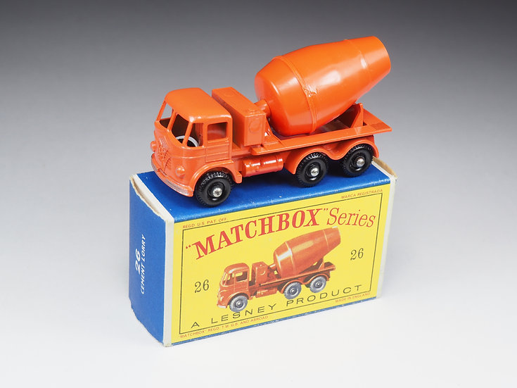 MATCHBOX - 26 - FODEN CEMENT LORRY