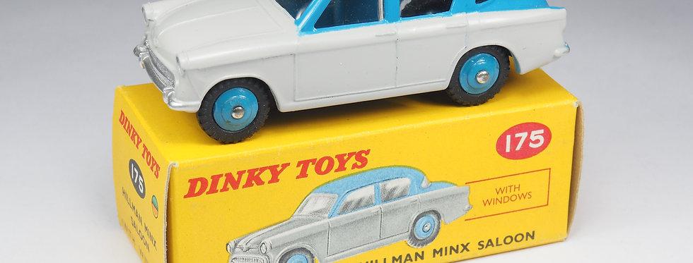 DINKY TOYS ENGLAND - 175 - HILLMAN MINX SALOON - 1/43e