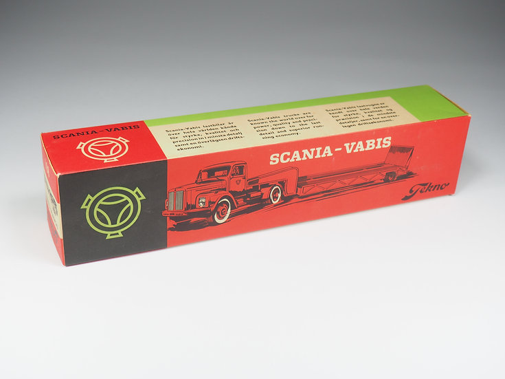 TEKNO - 861 - SCANIA VABIS WITH TRAILER - BOX ONLY