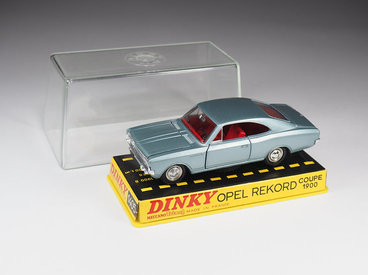 DINKY TOYS FRANCE - 1405 - OPEL REKORD COUPE 1900
