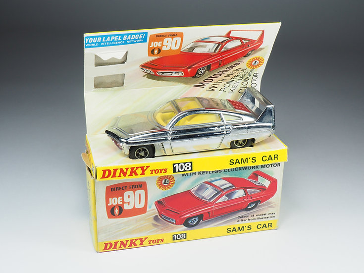 DINKY TOYS ENGLAND - 108 - SAM'S CAR JOE 90