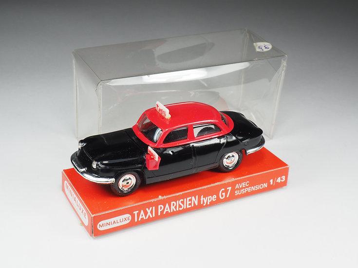 MINIALUXE - 1967 - TAXI PARISIEN PANHARD G7