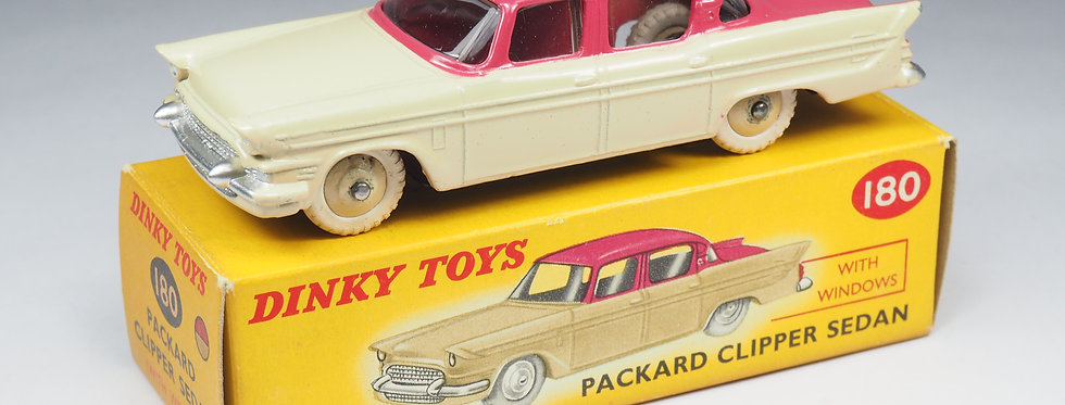 DINKY TOYS ENGLAND - 180 - PACKARD CLIPPER SEDAN - 1/43e