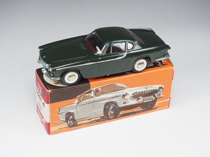 TEKNO - 825 - VOLVO P1800 COUPE DARK GREEN 1/2 - 1/43e