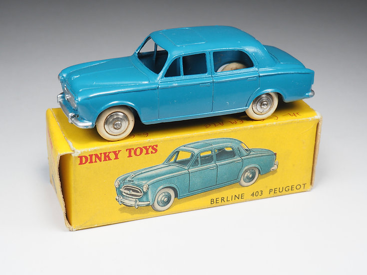 DINKY TOYS FRANCE - 24B - PEUGEOT 403 BERLINE