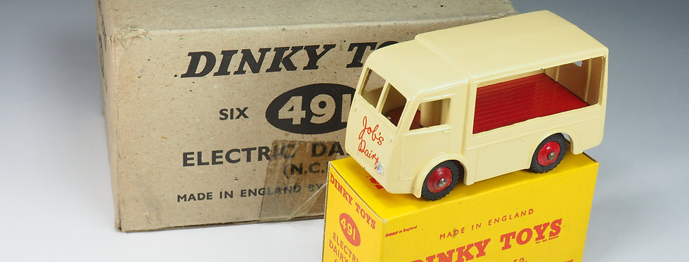 "DINKY TOYS - 30V / 491 - ELECTRIC DAIRY VAN ""JOB'S DAIRY"" PROMOTIONNAL ISSUE"