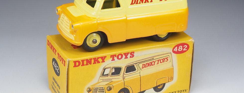 "DINKY TOYS ENGLAND - 482 - BEDFORD ""DINKY TOYS"" VAN - 1/43e"