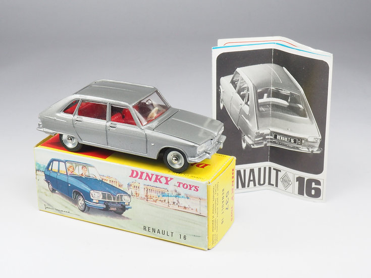 DINKY TOYS - 537 - RENAULT 16 - 1/43e