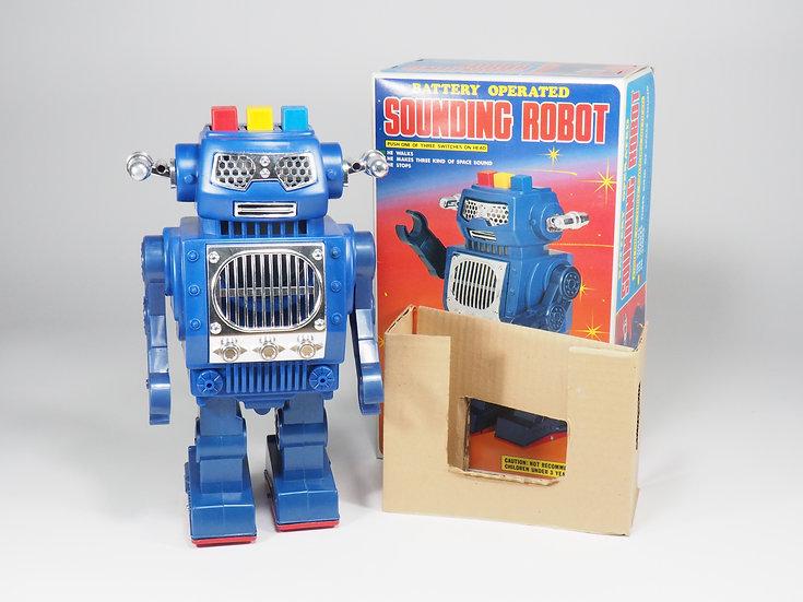 SH TOYS HORIKAWA - 1985 - SOUNDING ROBOT - 26cm