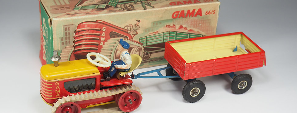 GAMA - TRACTOR AND TRAILER - 16CM
