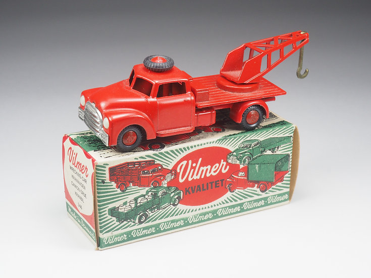 VILMER - 346 - WRECKING LORRY - 1/43e
