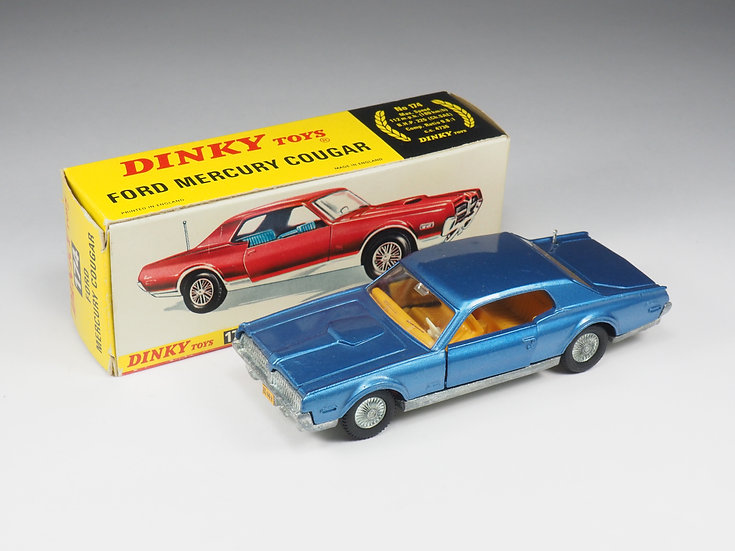 DINKY TOYS ENGLAND - 174 - FORD MERCURY COUGAR - 1/43e
