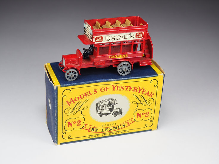 MATCHBOX - MODELS OF YESTERYEAR - 2 - «B» TYPE LONDON BUS