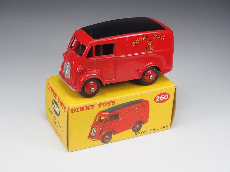 DINKY TOYS ENGLAND - 260 - MORRIS 'ROYAL MAIL' VAN - 1/43e