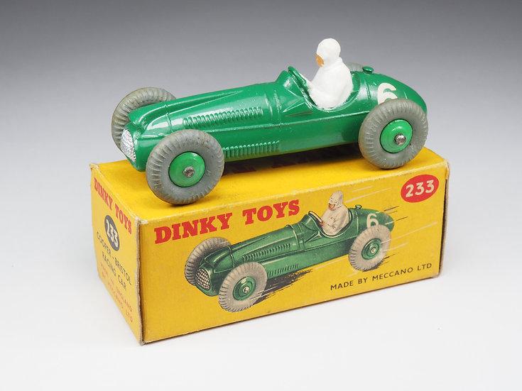 DINKY TOYS ENGLAND - 233 - COOPER-BRISTOL RACE CAR - 1/43e