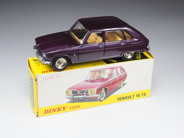 DINKY TOYS FRANCE (SPAIN) - 538 - RENAULT 16 TX
