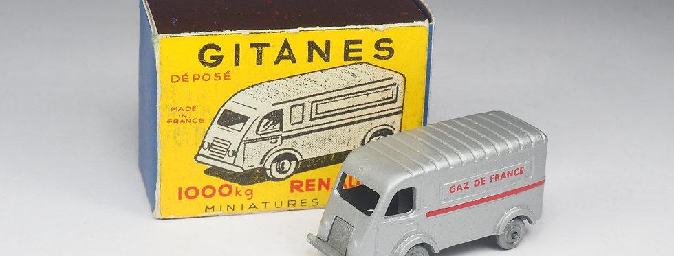 GITANES - RENAULT GOELETTE 1000KG GAZ DE FRANCE - 1/86e