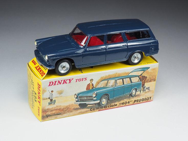 DINKY TOYS FRANCE - 525 - PEUGEOT 404 COMMERCIALE - DERNIERE VERSION