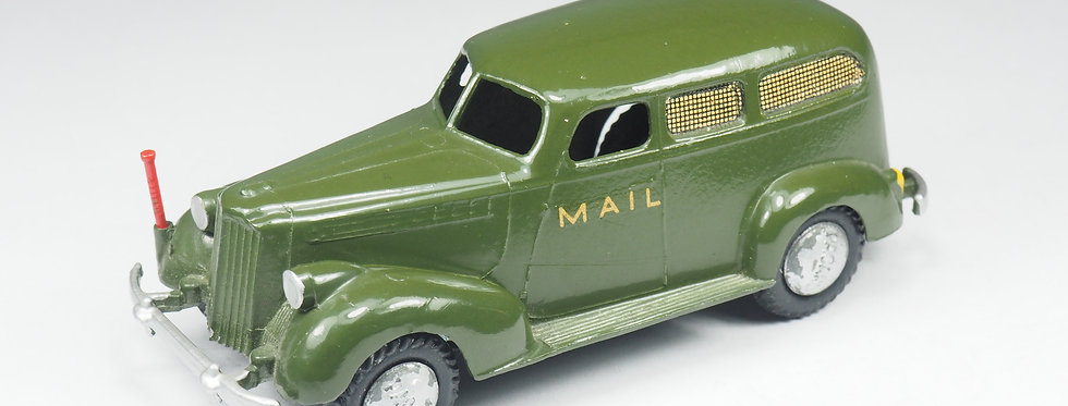 RARE TEKNO - 425 - PACKARD US MAIL DELIVERY VAN - 1/43e